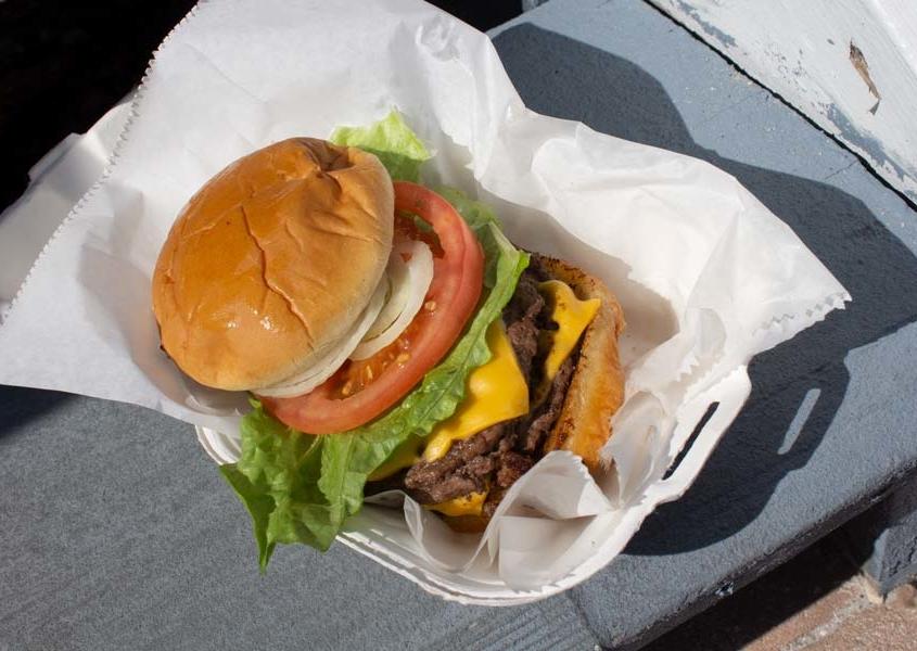double burger anna maria